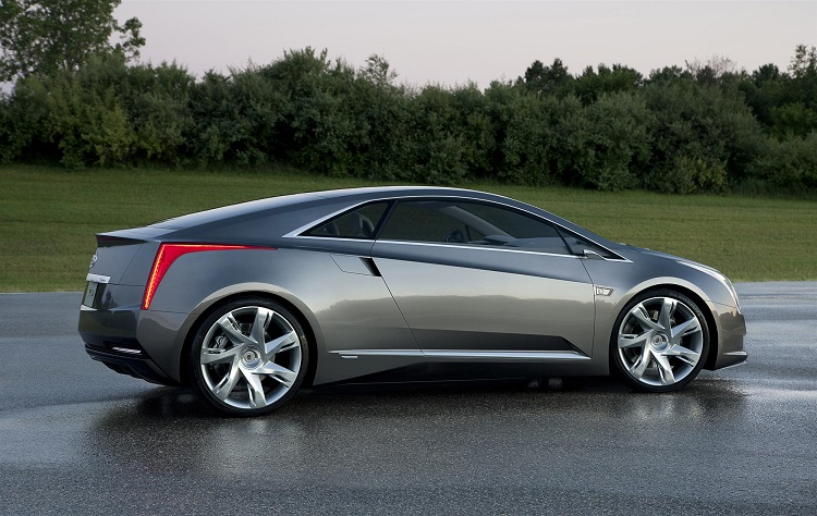 2017 Cadillac ELR side view