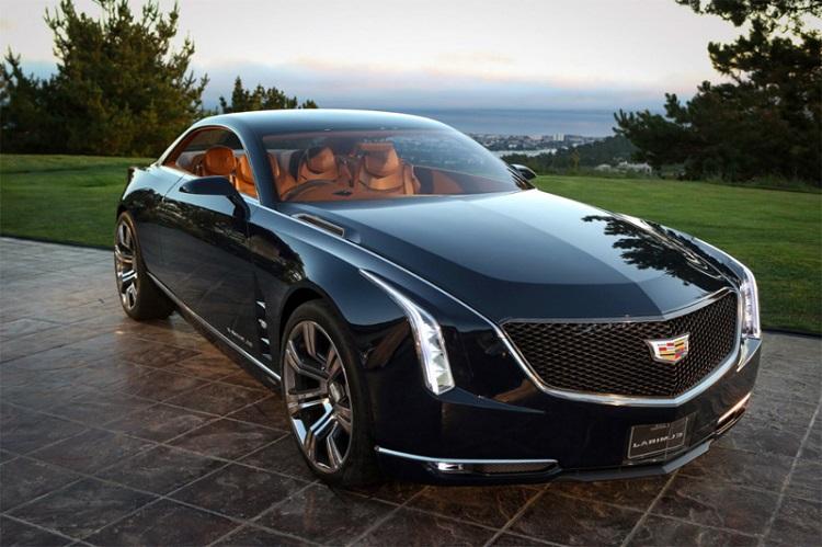 2017 Cadillac Eldorado front view