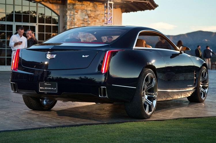 2017 Cadillac Eldorado rear view