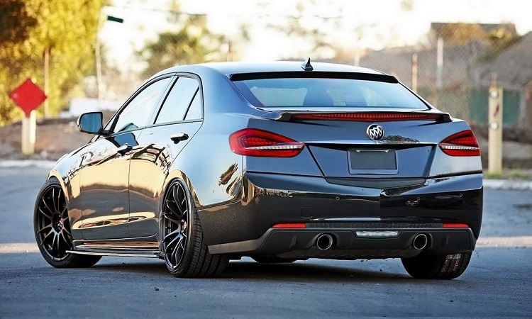 2017 Buick Regal rear view