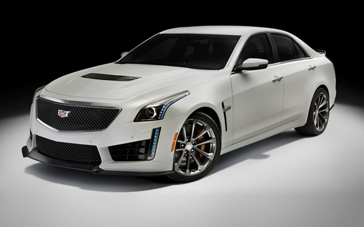 2017 Cadillac CTS-V front view