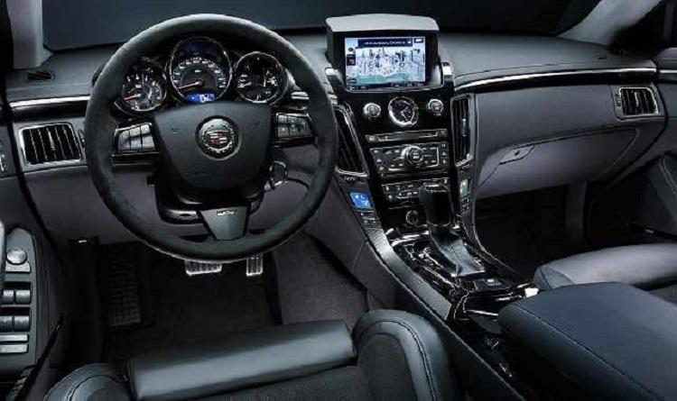 2017 Cadillac CTS-V interior