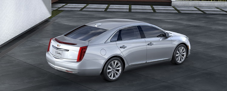 2017 Cadillac XTS rear view