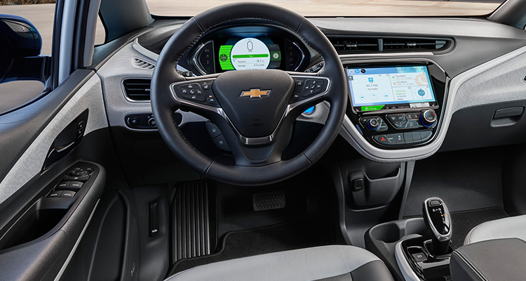2017 Chevrolet Bolt interior