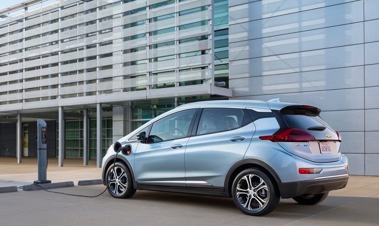 2017 Chevrolet Bolt rear view