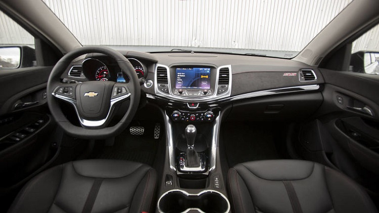 2017 Chevy SS interior