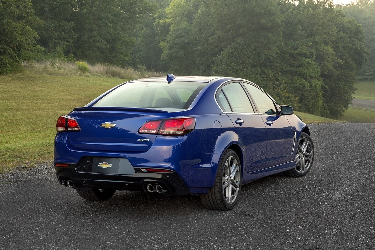 2017 Chevy SS rear view