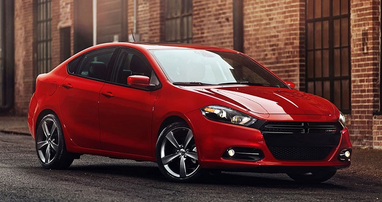2017 Dodge Dart front view