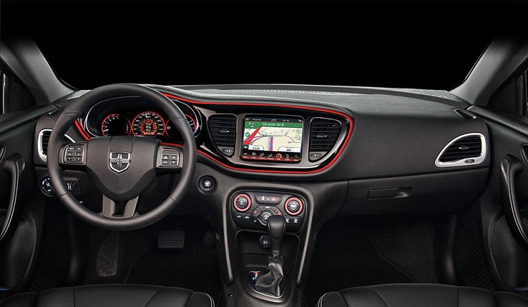 2017 Dodge Dart interior