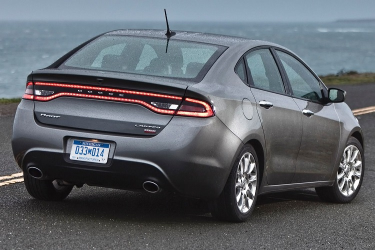 2017 Dodge Dart rear view