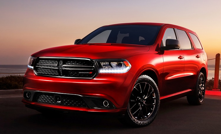 2017 Dodge Durango front view
