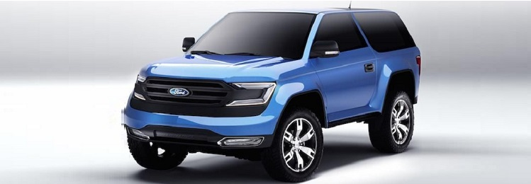 2017 Ford Bronco front view