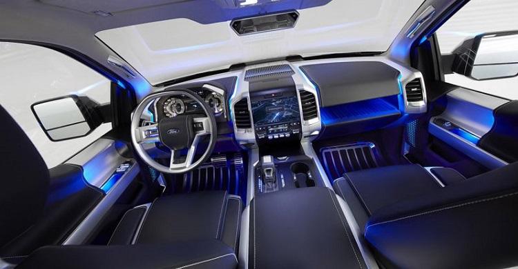 2017 Ford Bronco interior