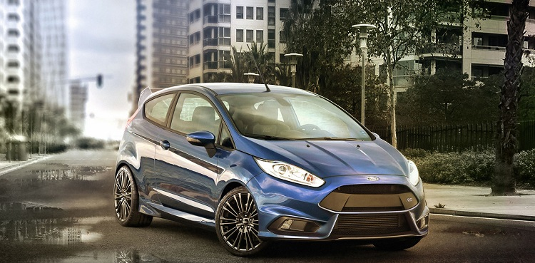 2017 Ford Fiesta RS front view