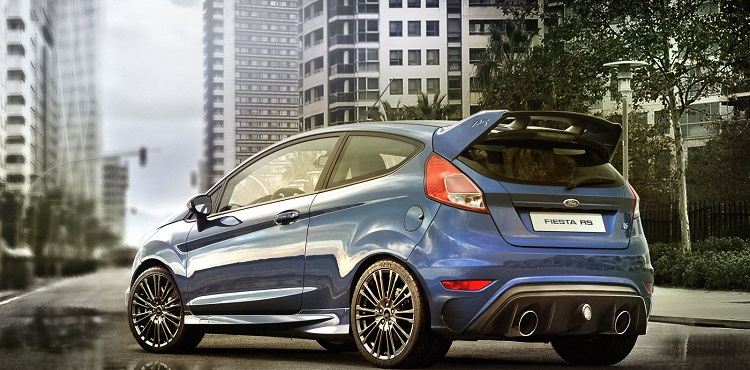 2017 Ford Fiesta RS rear view