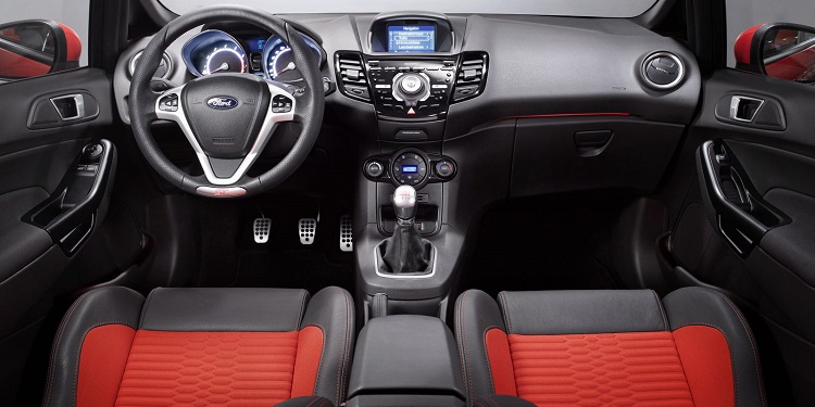 2017 Ford Fiesta ST interior