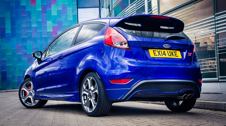 2017 Ford Fiesta ST rear view