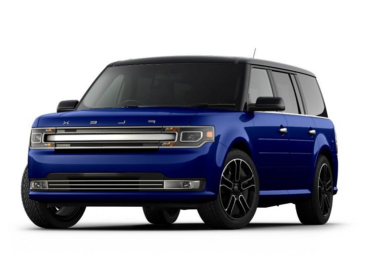 2017 Ford Flex front view