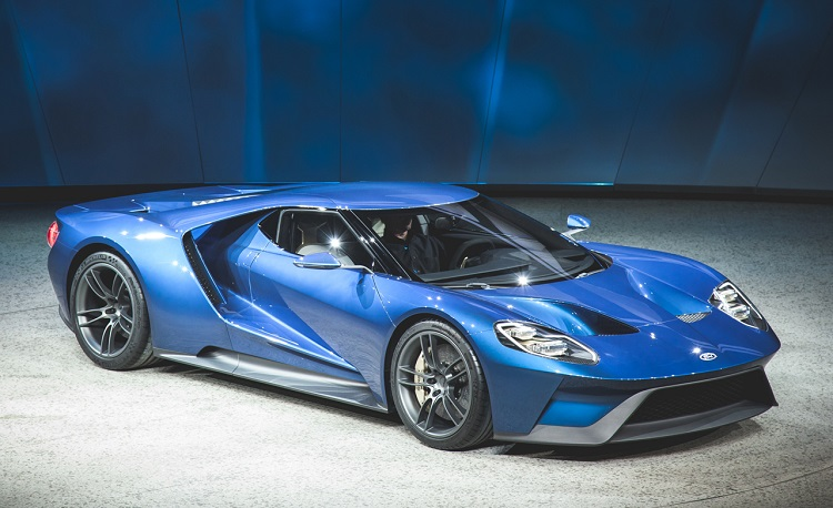 Ford Gt Front View