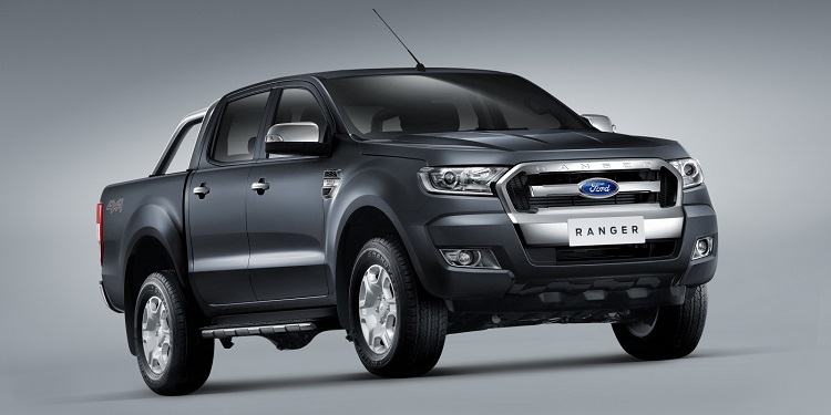 2017 Ford Ranger front view