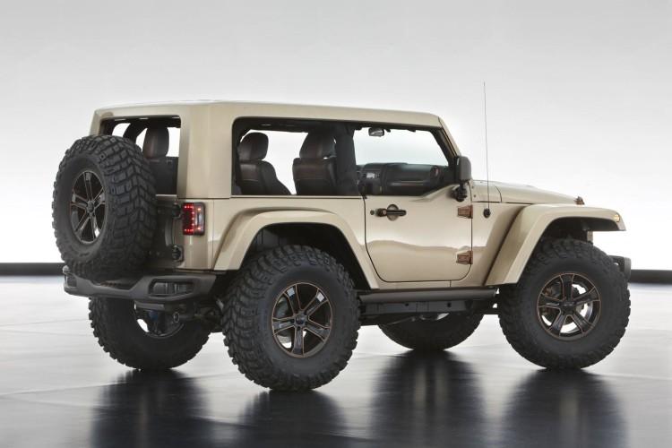 2017 Jeep Wrangler rear view