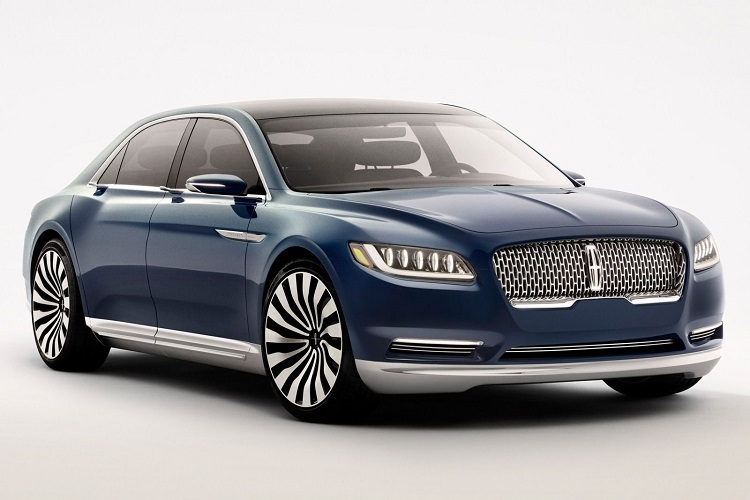2017 Lincoln Continental Design