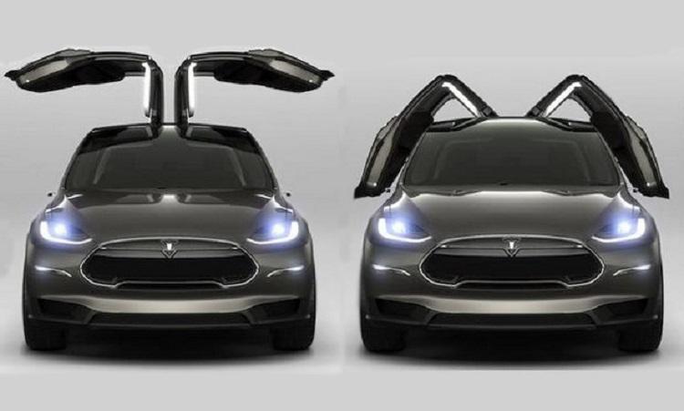2017 Tesla Model Y front view