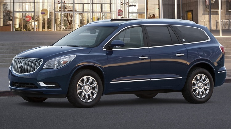 2017 Buick Enclave side view