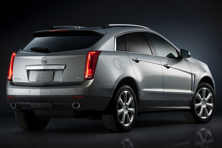 2017 Cadillac SRX rear view