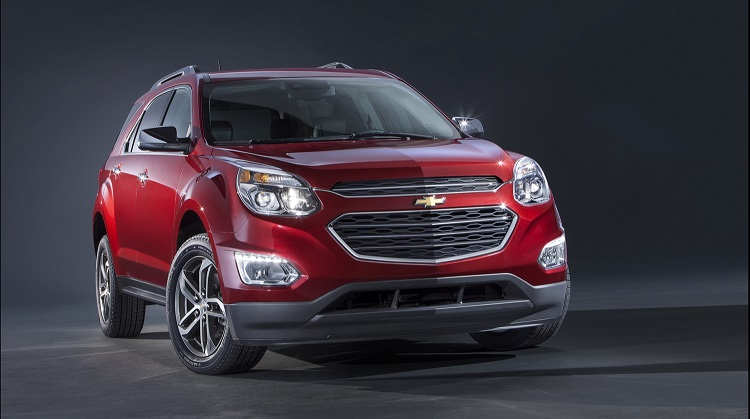 2017 Chevrolet Equinox front view