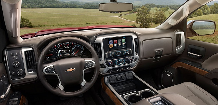 2017 Chevrolet Silverado 2500HD interior