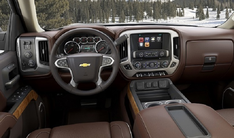 2017 Chevrolet Silverado 3500HD interior
