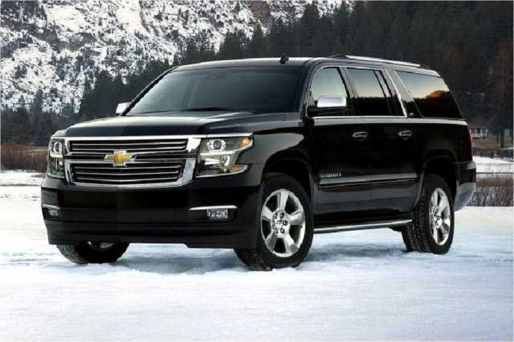 2017 Chevrolet Suburban front view