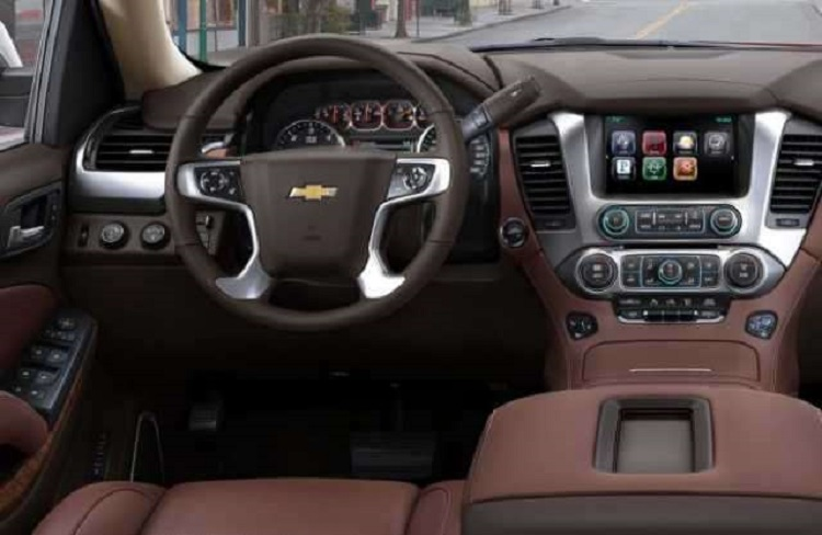 2017 Chevrolet Suburban interior