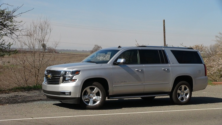 2017 Chevrolet Suburban side view