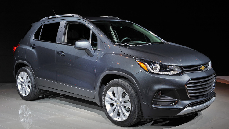 2017 Chevrolet Trax front view