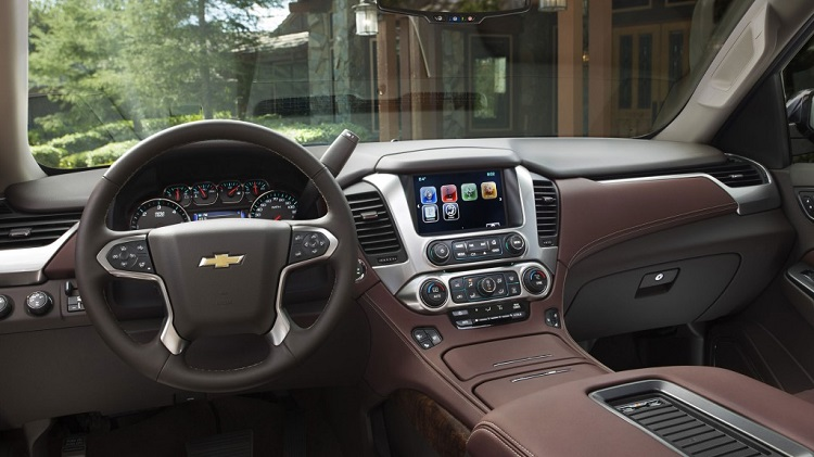 2017 Chevy Tahoe interior