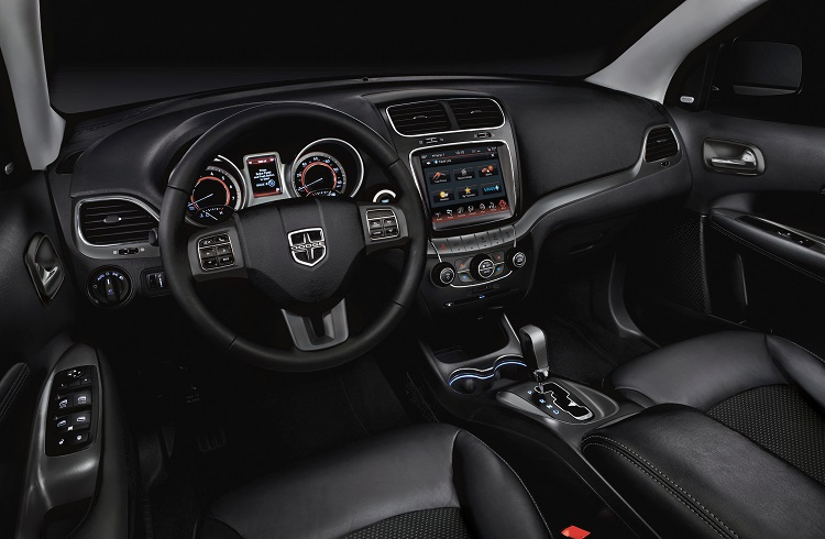 2017 Dodge Journey interior