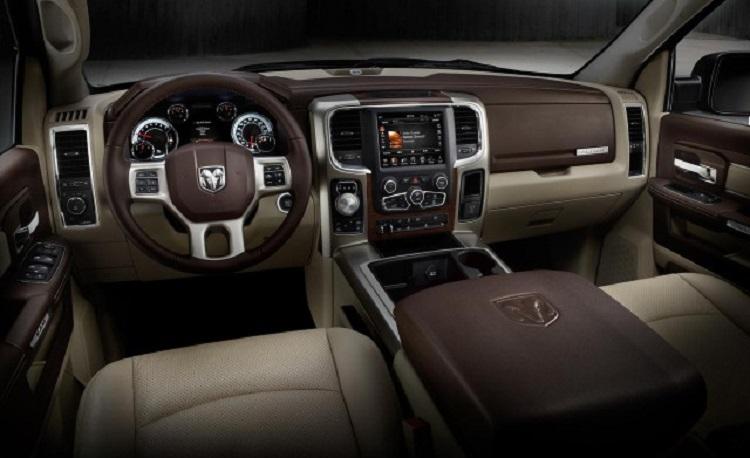 2017 Dodge Ram 1500 interior