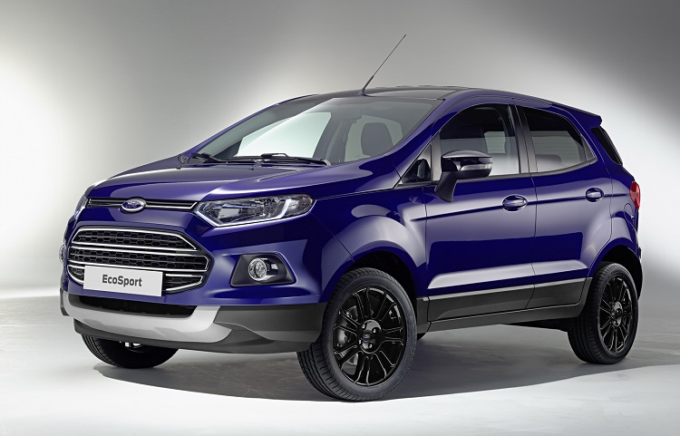 2017 Ford EcoSport front view