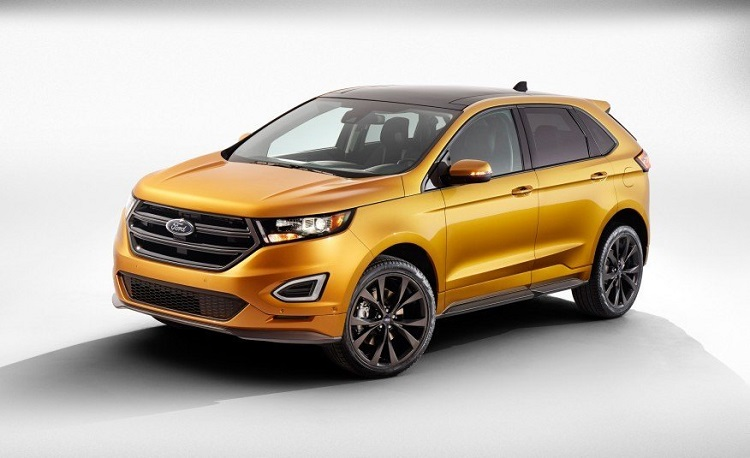 2017 Ford Edge Sport front view