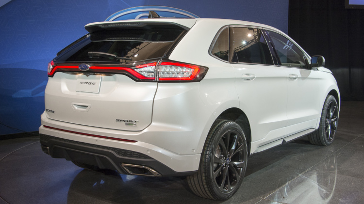 2017 Ford Edge Sport rear view