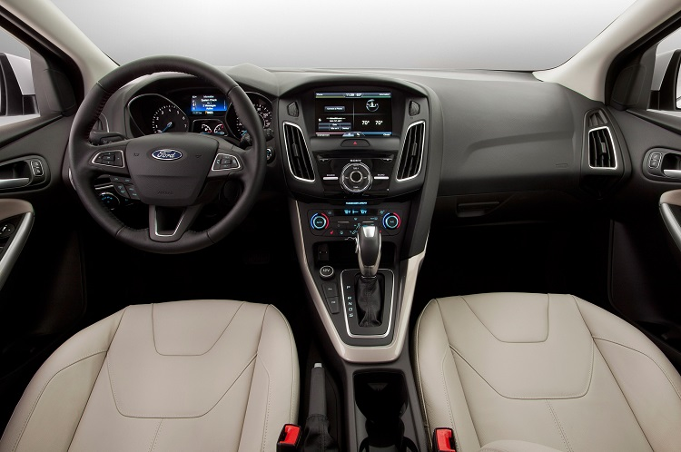 2017 Ford Escort interior