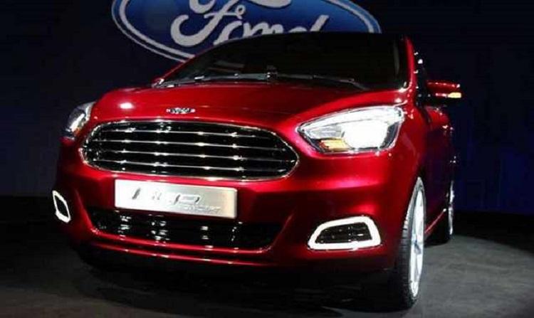 2017 Ford Figo front view