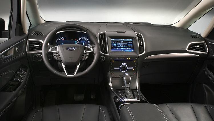 2017 Ford Galaxy interior