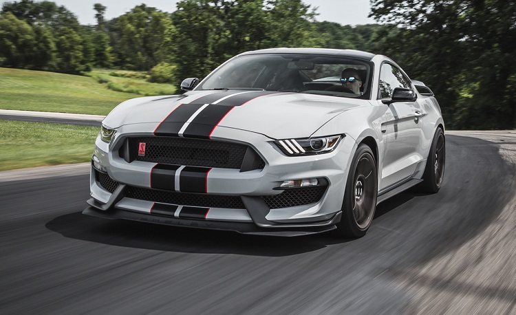 mustang shelby gt350r ford gt engine front driver cars specs riding ride shotgun anticipated most dubai caranddriver