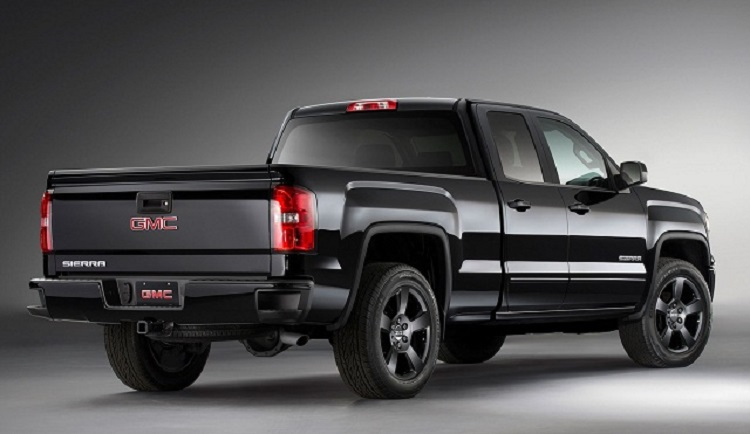 2017 GMC Sierra 1500 side view