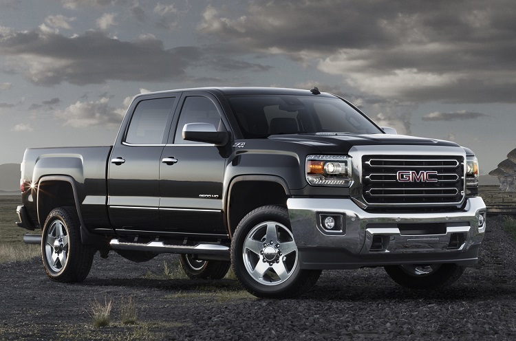 2017 GMC Sierra 2500HD front view