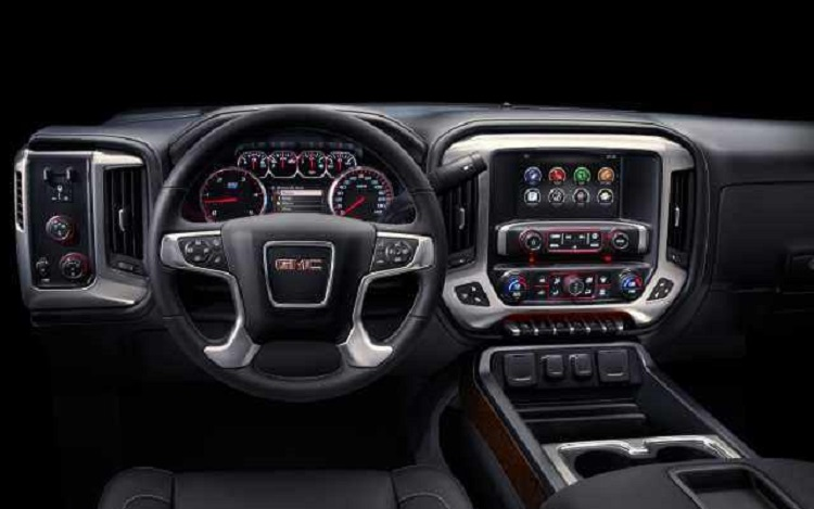 2017 GMC Sierra 2500HD interior