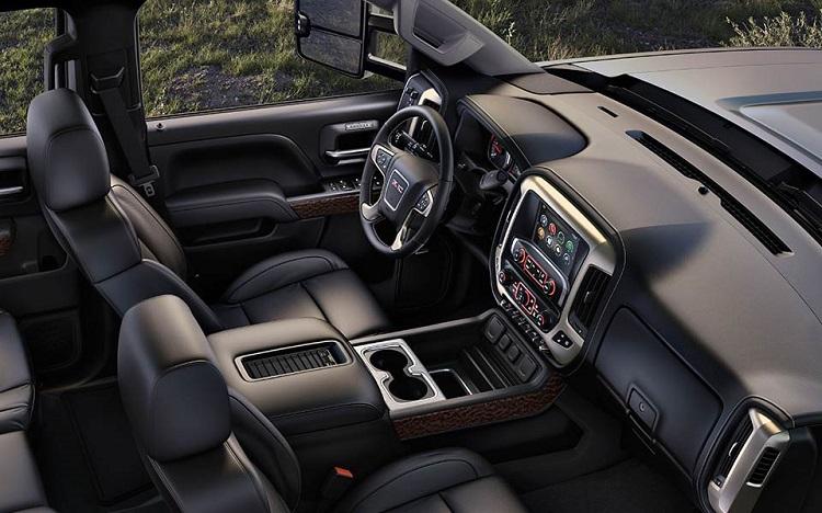 2017 GMC Sierra 3500 interior